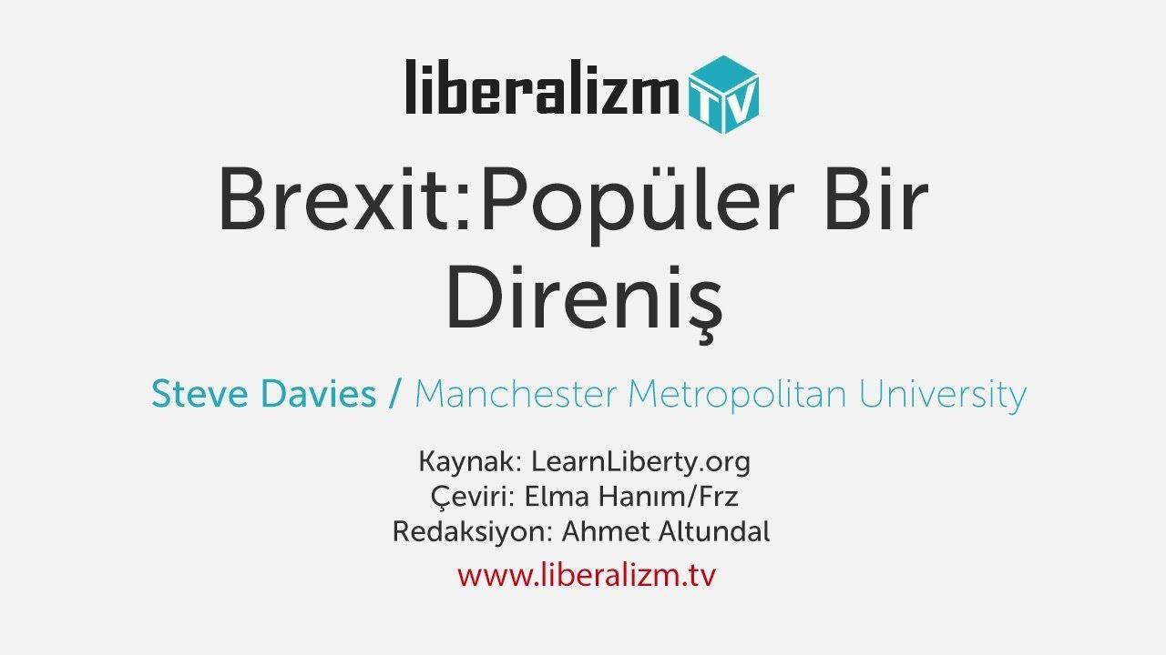 Brexit: Popüler Bir Direniş
