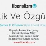 Eşitlik ve Özgürlük