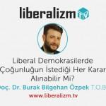 Liberal Demokrasilerde Çoğunluğun Sınırları