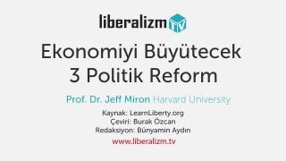 Ekonomiyi Büyütecek 3 Politik Reform