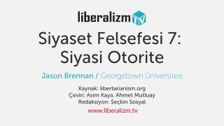 Siyaset Felsefesi 7: Siyasi Otorite
